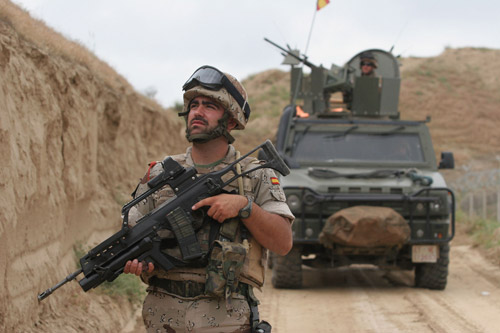 Courtesy Image: Spanish Ministry of Defense | An International Security Assistance Force Spanish patrol in Afghanistan.