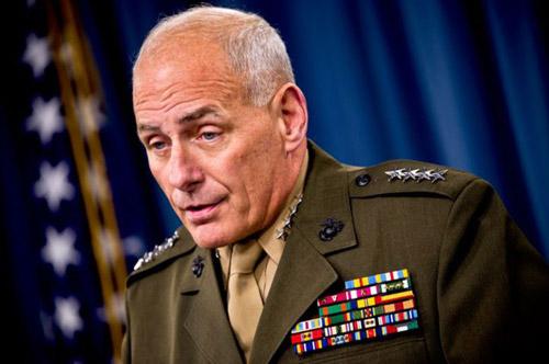 U.S. Marine General John F. Kelly