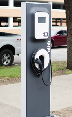 Image Courtesy of University of North Texas  UNT Electirc Vehicle Charging Station