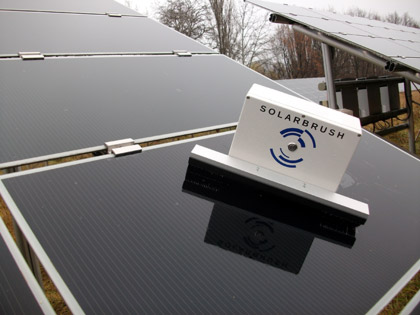 Solarbrush For Solar Panels German Teen Solves