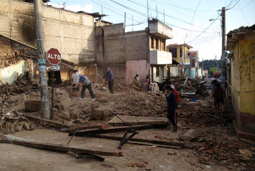Team 5 Remote Medical Foundation:  Helping San Marcos Earthquake Victims