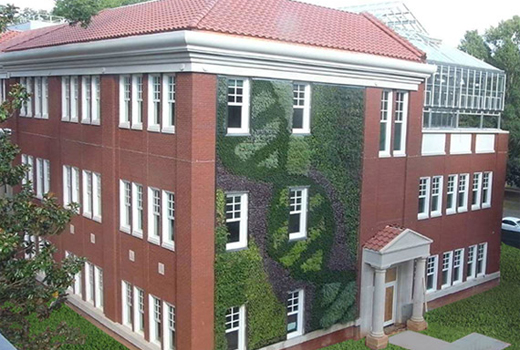 Queens University Of Charlotte >> Queens University Of Charlotte A Living Wall To Educate