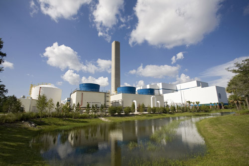 © HDR|Lee County Florida's waste-to-energy facility.