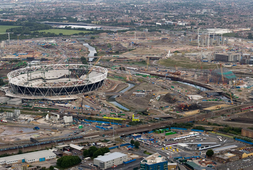 From Brown to Green: Transforming London's 2012 Olympic Park