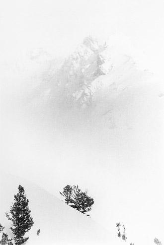 |Peak above a Cloud, 1973