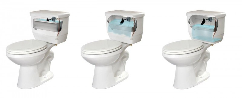 Niagara EcoLogic 1.28 gpf HET Flapperless Toilet