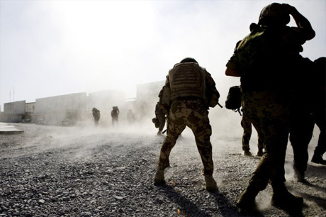 Source: Liepke Plancke, AVDD, RNLAF The NATO Military Committee visits Kandahar, Afghanistan.