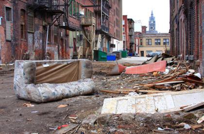 © iStockphoto.com/DenisTangneyJr | Urban decay in Massachusetts.