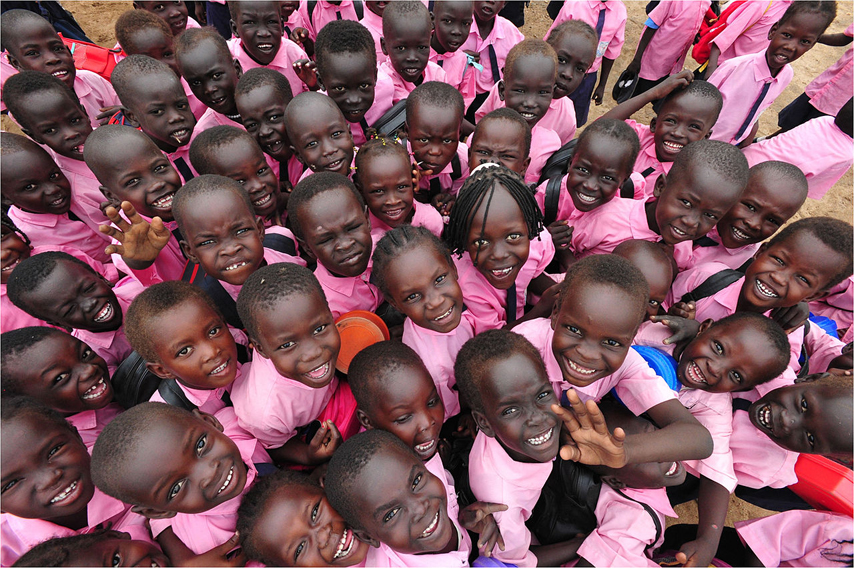 Photo courtesy USAID | Children in Southern Sudan.
